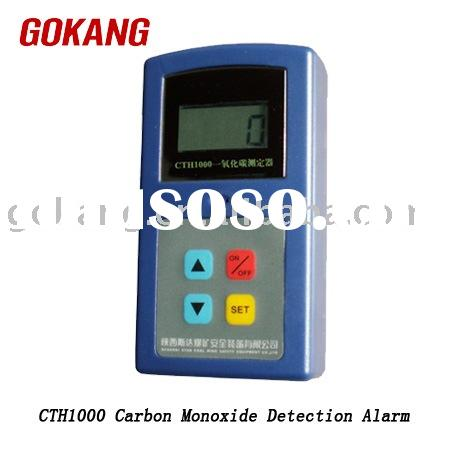 Carbon Monoxide Detect Alarm, CO gas detector, toxic gas meter,cordless, wireless