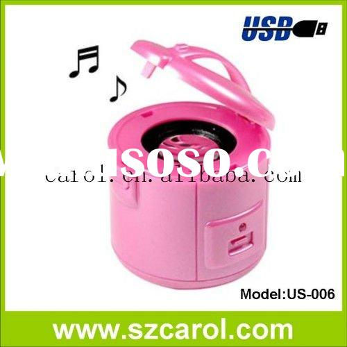 Carol rice cooker shaped funy mini speaker for iPad
