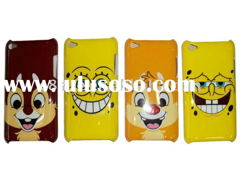 Cartoon IMD Hard Phone Case For iPod Touch 4