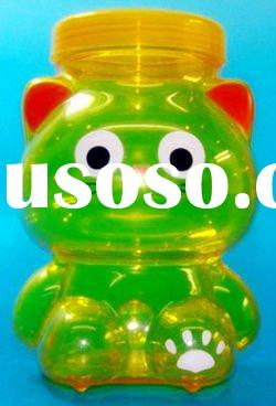 Cat shape container Plastic candy box Animal shape candy box Plastic frog container