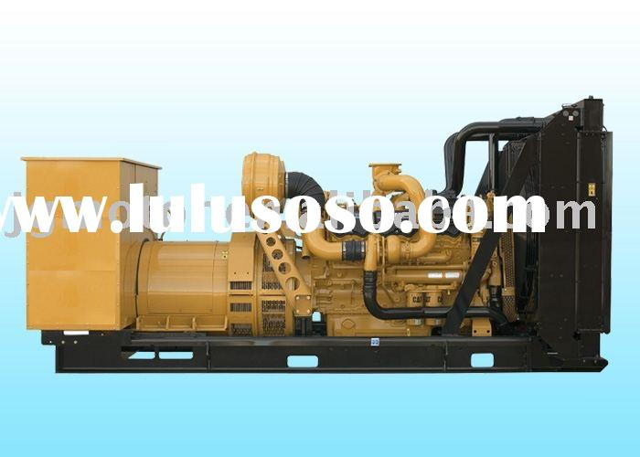Caterpillar diesel open frame generator set
