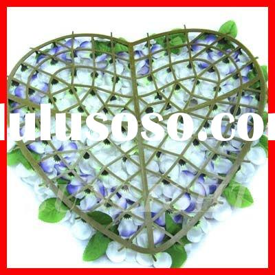 Cheap artificial flower wreath,funeral flower support funeral wreath