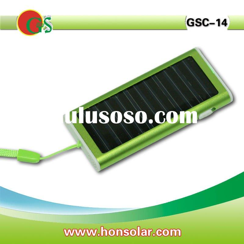 Cheap solar charger with 1350mah battery