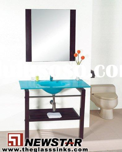 Inexpensive Bathroom Vanities on Cheap Vanity Glass Vanity Bathroom Vanity
