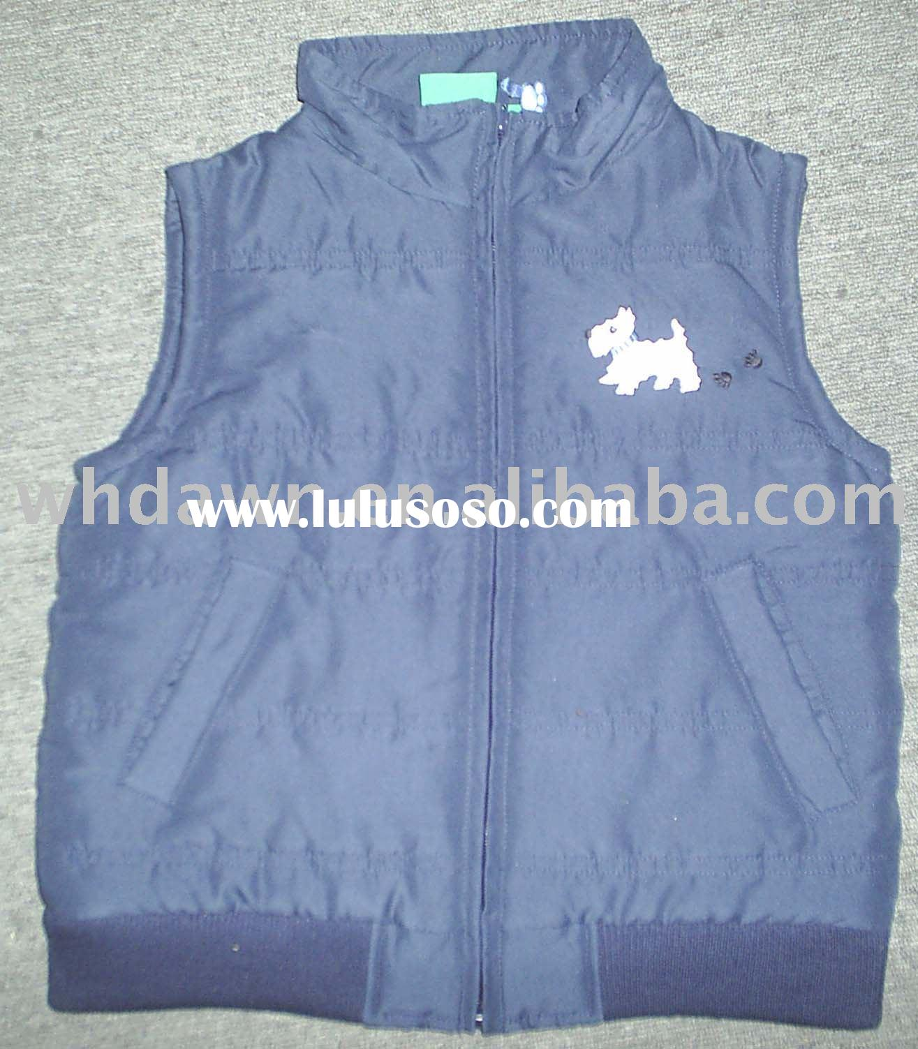 Children's vest,boy's vest, chidren's coats, children's jacket, chil