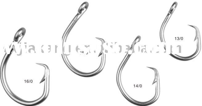 Circle hook(fishing tackle,fishing hook,fishing swivel,tuna hook,circle hook,fishing snap,fishing pa