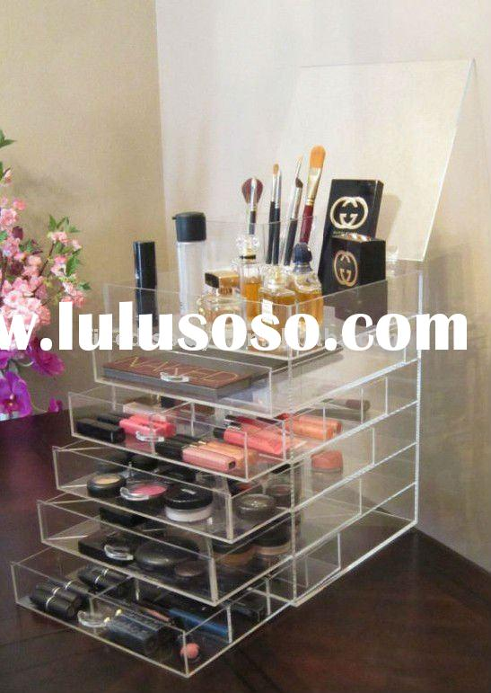 ... Plastic Cosmetic Stacking Box Drawer Clear Acrylic 6 Drawers Cosmetic  Organizer Cd A 0078 ... Part 6