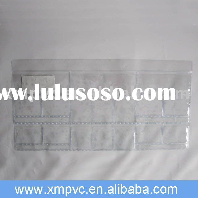 Clear pvc cards holder for hospital scanning cards D-CC049