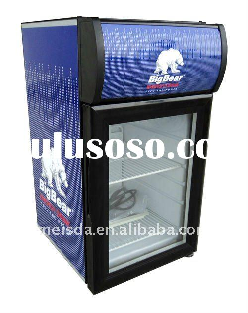 Commercial Refrigerator With Light Box, Display Cooler SC21B