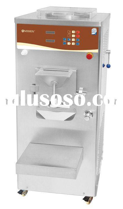 Commercial ice cream machine (pasteurizer+batch freezer)