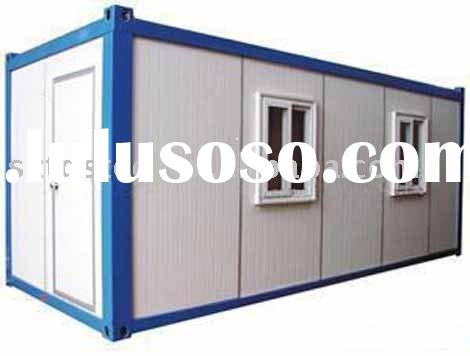Container house building
