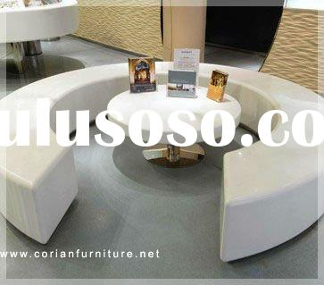 Corian built modern sofa and table sets YY-018
