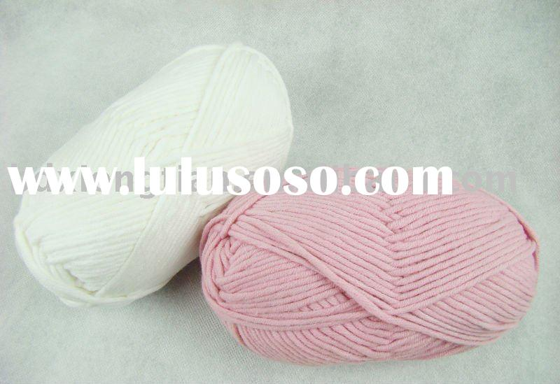 Cotton acrylic hand knitting yarn,baby yarn