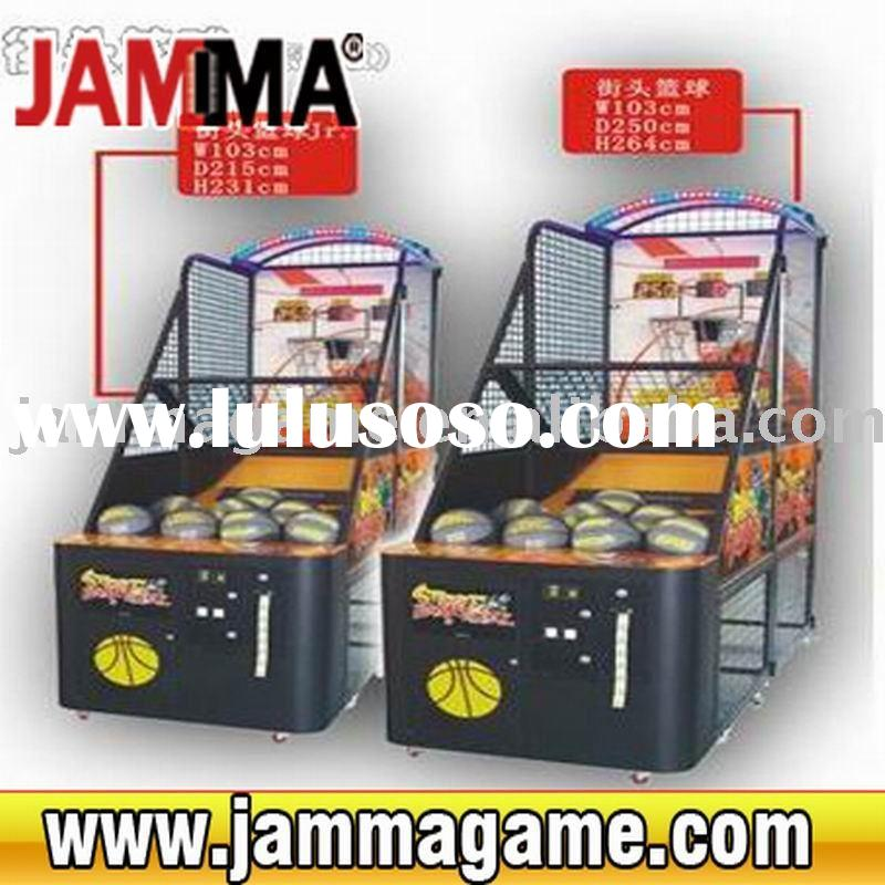 Crazy and stimulate amusement game machine street basketball ( luxury edition )