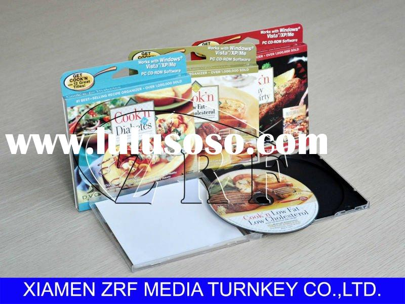 Custom CD Replication with PS Jewel Case and Paper Box Packaging Services