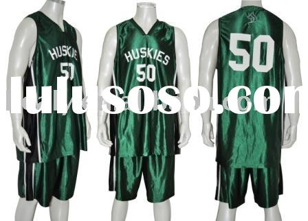 Customized Basketball Uniform basketball kits