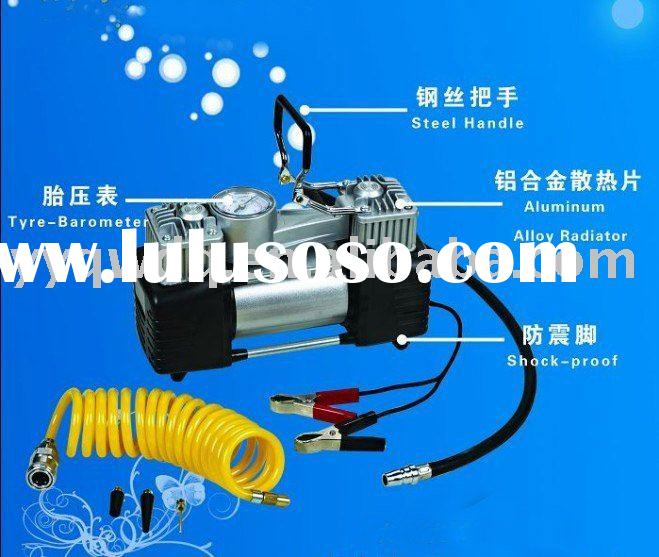 DC 12V air compressor/air pump/tire inflator