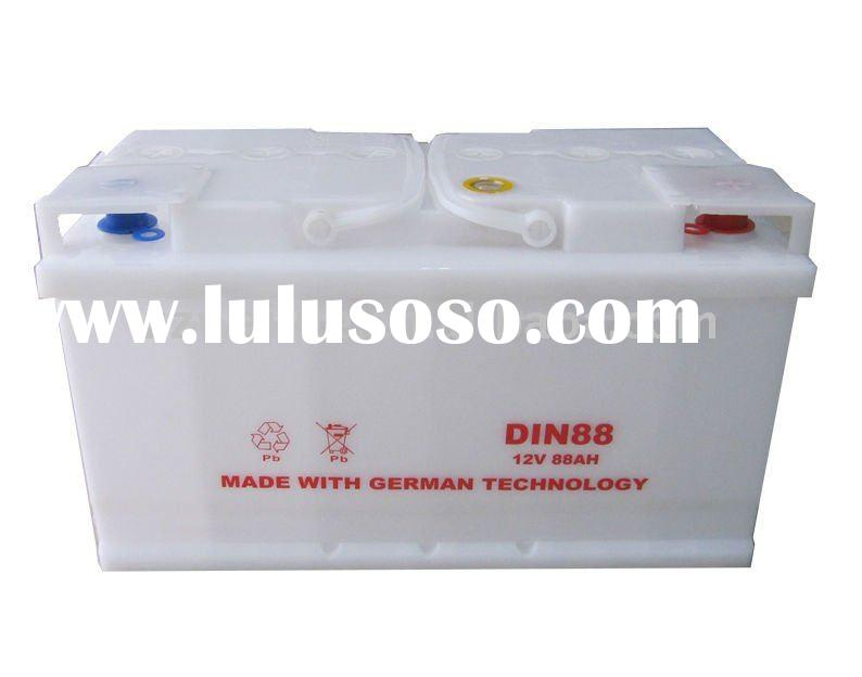 DIN85 (58515) lead acid battery for car starting