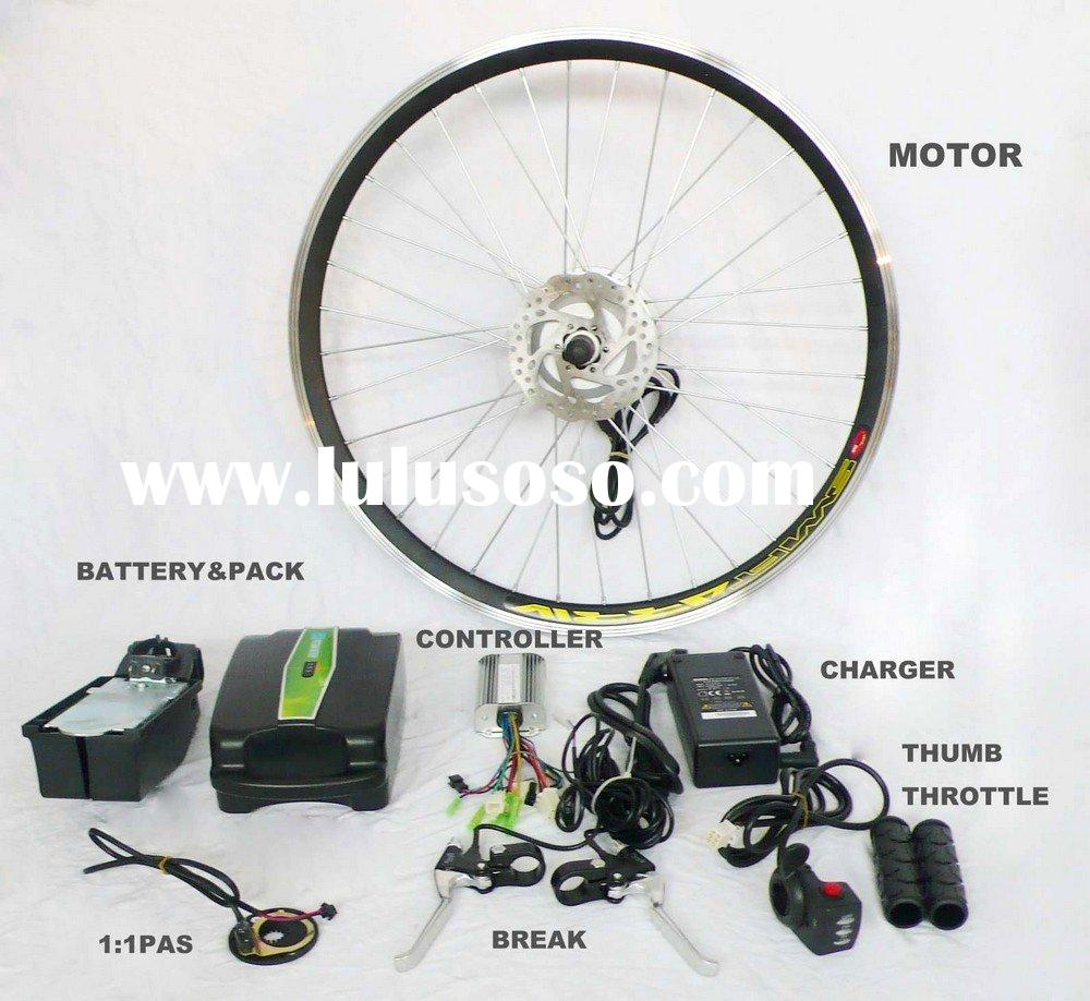 DIY electric bike brushless gear motor kit