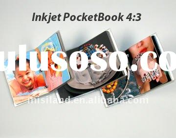 DIY photo album 4:3 size Mini-color inkjet paper book (Festival gift for baby/wedding, high glossy p