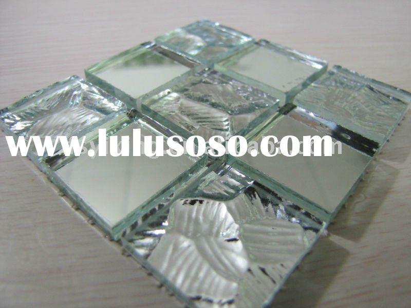 Decorative Glass Mosaic Tile for Wall and Floor Decoration,Red Mirror Mosaic