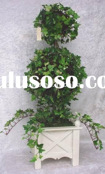 Decorative/fake/silk Artificial Craft plants IVY LVS TOPIARY flower