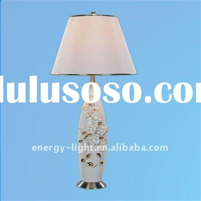 Decorative porcelain lamp/Ceramic Table light with UL certificate