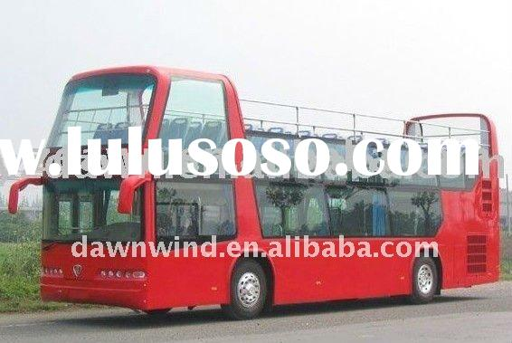 Diesel open top sightseeing bus for sale