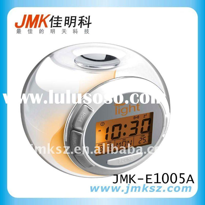 Digital Alarm Clock with Projection LED changing