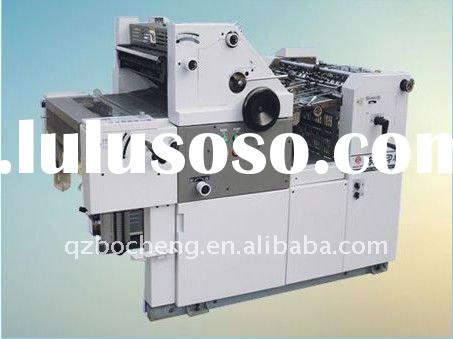 Digital Single Color Offset Press/Paper printing machine
