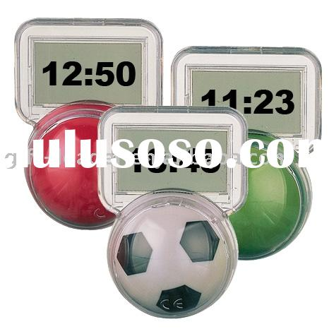 Digital Timer / Clock /Football Shape Stand/plastic timer/kitchen timer/pill box timer GL1703