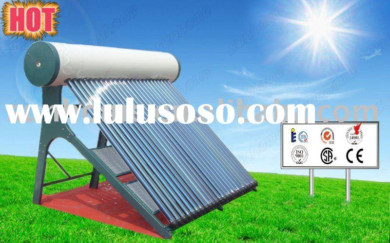 Direct Thermosiphon Solar Hot Water with Stainless Steel Stand