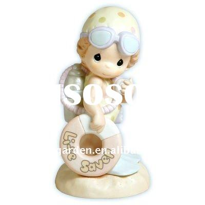 Diving Girl Figurine (Wedding Souvenir)