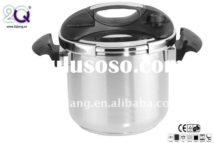 Double handle stainless steel pressure cooker