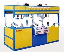 Double head semi-automatic vacuum forming machine