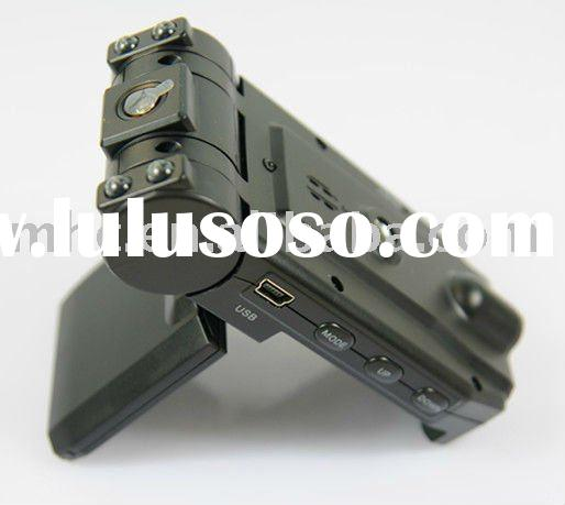 Dual Camera Car Black Box V680 with 270 degree Rotating Screen Car DVR V680 with 180 Rotating Front