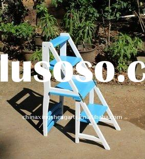 Dual-purpose wooden ladder chair,home furniture,