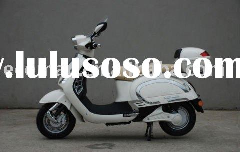 EU retro 2000W electric scooter with EEC of 25kmh or 45kmh, Silicon or Lithium battery