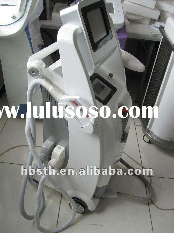 E - light ( ipl + rf ) + ipl + Nd:yag laser hair removal beauty machine