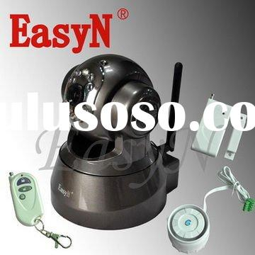 EasyN Wireless Alarm System with IP Camera and Sensors