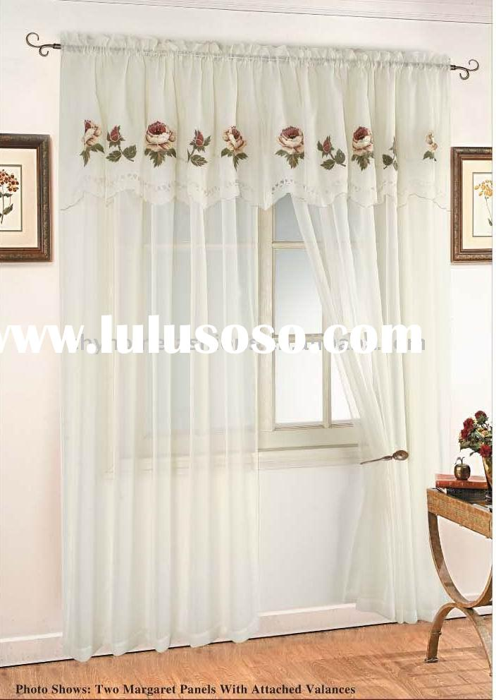 Window Treatment Valance Curtain