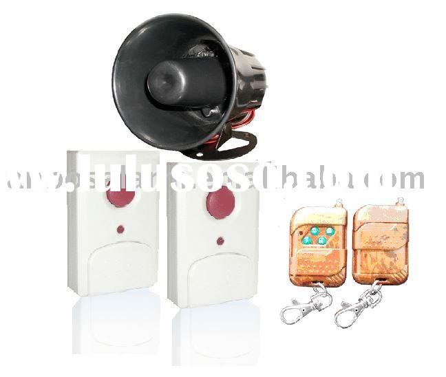 Emergency Button Alarm Remote Control Wireless horn siren wireless panic button