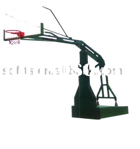 Enhanced Electrically Operated Hydraulic Pressure Basketball System Basketball Frame with Basketball