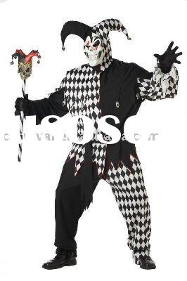 Evil Jester Plus Size Adult halloween costumes ideas BSMC-1026