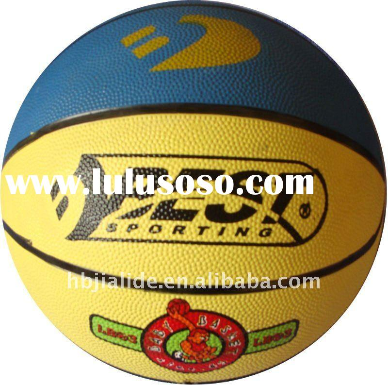 Excellent quality size 7 rubber basketball