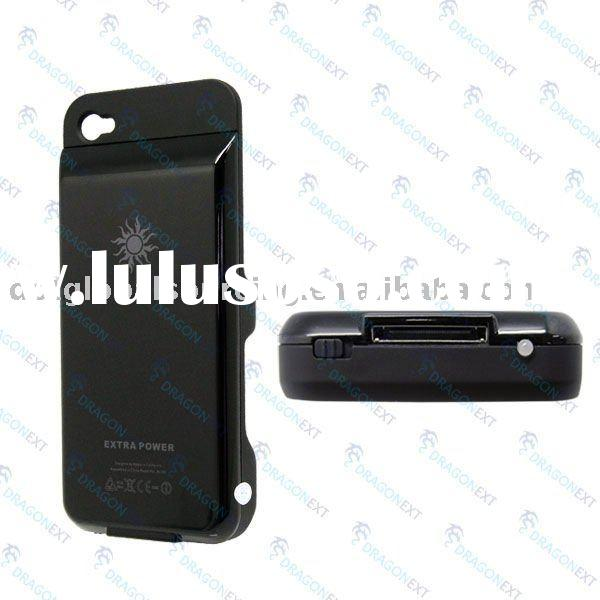 External Backup Battery Charger Case Cover For Apple iPhone 4 4G