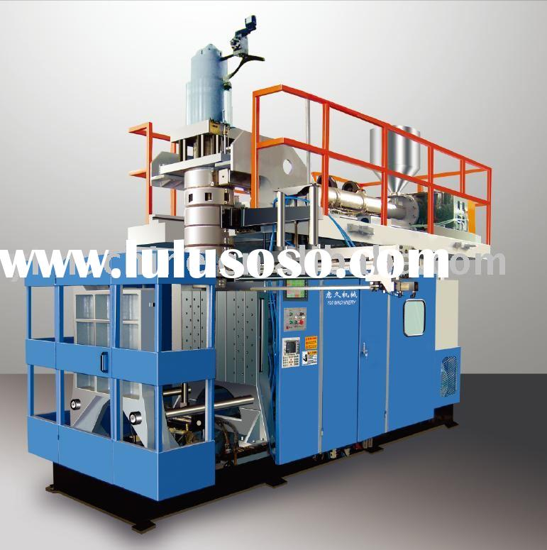 Extrusion blow molding machine for plastic chair and round table