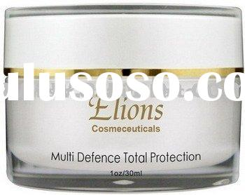 Face Cream moisturizer makeup base sun protection Multi Defence Total Protection sunscreen cream