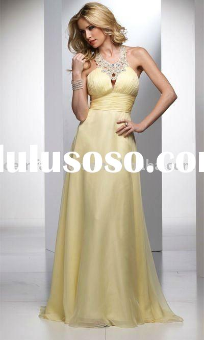 Famous Prom Dress Designers Famous Designer Yellow Prom