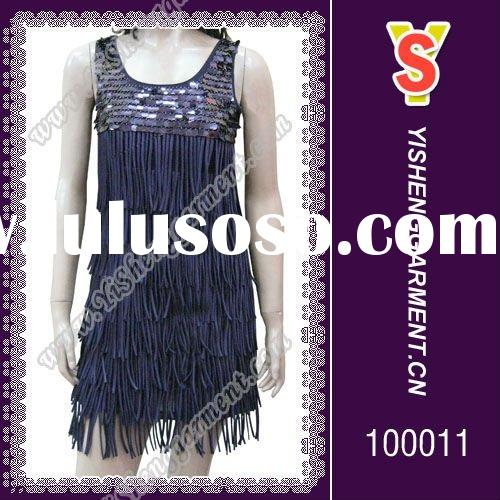 Fashion and beautiful latin dance dress, ballroom dress